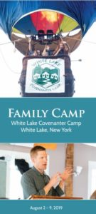 White Lake Family Camp Brochure Picture